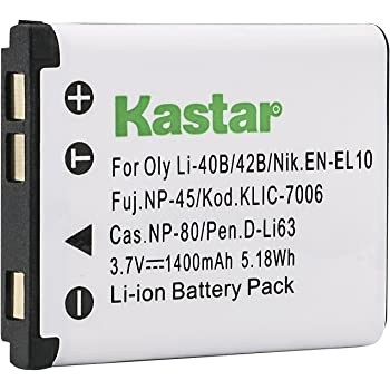 Batería Para OLYMPUS FE-340//FE-350 Ancho//FE-360//FE-3010
