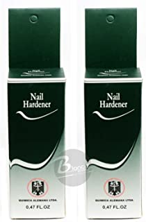quimica alemana nail hardener before and after