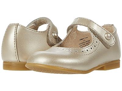 FootMates Emma (Toddler/Little Kid) (Soft Gold) Girls Shoes