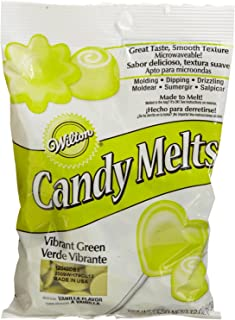 2 x Wilton 12 oz (340g) VIBRANT GREEN Candy Melts For Cake Pops Sweet Decoration