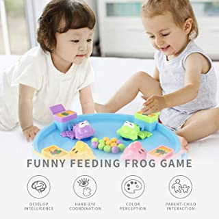 Uanlauo Feeding Frog Game Party Family Action Game Frog Hungry Eat Up All The Balls Fun Kids Board Game4