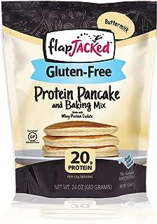 FlapJacked Gluten-Free Protein Pancake & Baking Mix, Buttermilk, 24oz