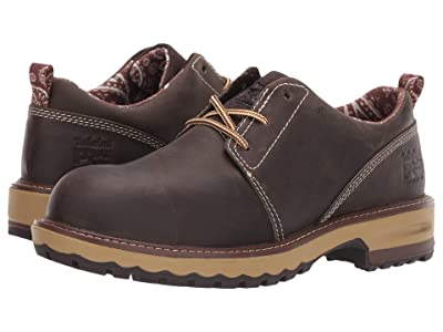 Timberland PRO Hightower Oxford Composite Safety Toe (Turkish Coffee Full Grain Leather) Women