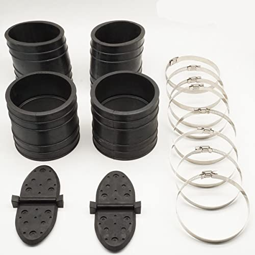 popular CM Exhaust outlet online sale Y-Pipe Kit Replaces new arrival 807166A1 Hose Bellows 32-14358T 32-44348T 1998 &Up Mercruiser online