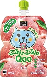 X6 this Coca-Cola Minute Maid Purunpurun Qoo peach flavor 125g pouch