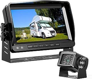 $129 » Back Up Camera, Car Backup Camera Vehicle Backup Cameras for Car and Truck with 7-inch Monitor Reverse Camera RV Back Came...