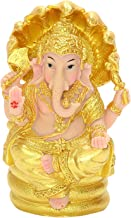 Generic Collectible Lord Ganesha Figurine Buddha Home Table Decorative Sculpture for Car Dashboard Supplies