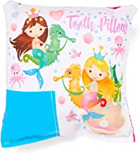 Mermaid and Seahorse Tooth Fairy Pillow with Tooth Fairy Dust