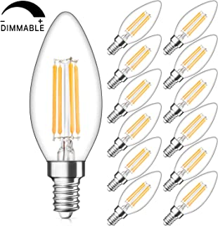 Best 40 watt equivalent led candelabra bulb Reviews