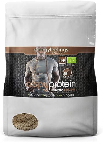 Energy Feelings Crispy Protein Cacao ecológico | proteina 40%