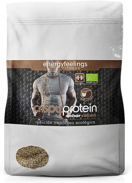 Energy Feelings Crispy Protein Cacao ecológico   proteina 40%