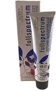Aveda Fullspectrum Protective Permanent Creme Hair Color 6N Natural Dark Blonde 2.8 OZ