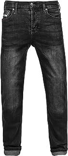 John Doe Herren Original Jeans/Black Used Hose