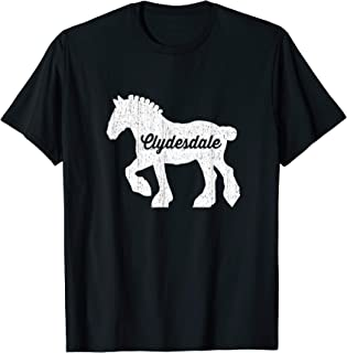Clydesdale Draft Horse Shirt