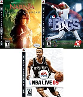 NBA Live 09 / The Bigs / The Chronicles of Narnia Prince Caspian - Playstation 3