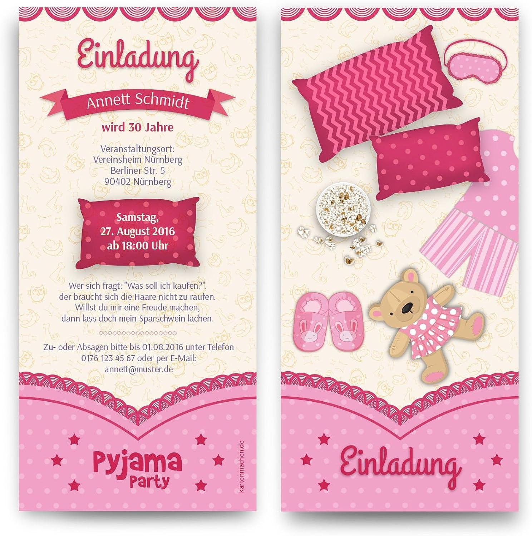 Einladungen (40 Stück) Pyjama Party Geburtstag Übernachtung Einladungskarten B01BFFTZR2  | Toy Story