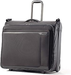 Samsonite 66593-1041 QUADRION Duet Garment Bag, Black, Checked – Medium