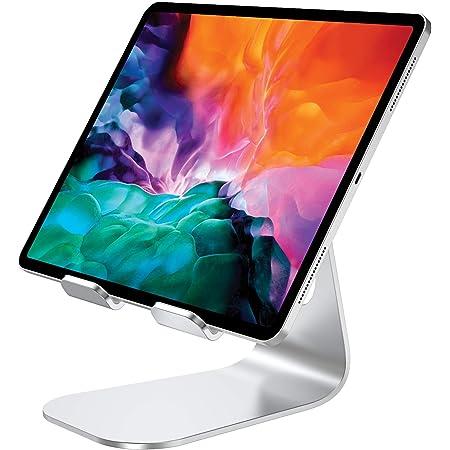 """Bovon Supporto Tablet, Porta Cellulare da Tavolo, 270° Ruotabile Dock Ricarica Desktop Compatibile con iPad PRO 9.7/10.2/10.5/12.9, iPad Air, iPad Mini, Samsung Tabs, Live Stream, E-Readers (4-13"""")"""