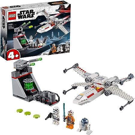 TALLA Sin talla. LEGO Star Wars - Asalto a la Trinchera del Caza Estelar Ala-X, juguete de construcción de nave espacial de La Guerra de las Galaxias (75235)