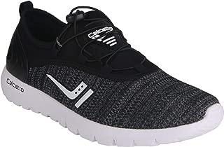 calcetto AQUAC Series Blackwhite Casual Shoes for Men