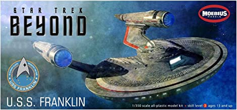 Moebius 975 Star Trek Beyond USS Franklin NX-326 1/350 Scale Plastic Model Kit