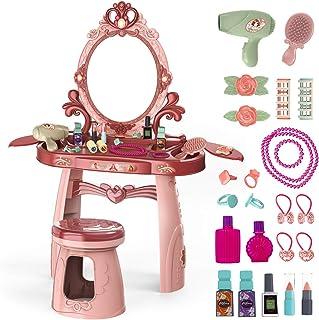 Meland Toddler Vanity Set - Kids Toy Vanity Table for Little