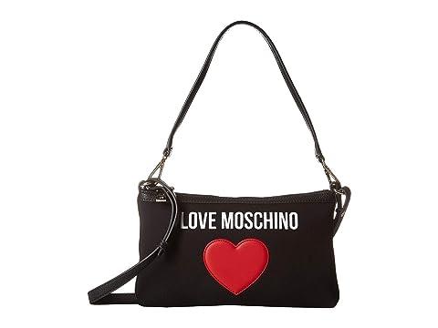 LOVE Moschino Canvas Shoulder Bag