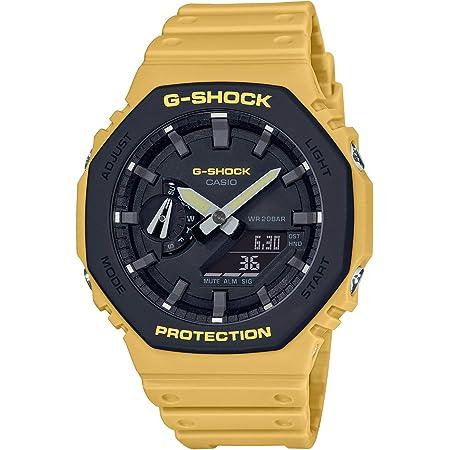 [カシオ] 腕時計 ジーショック ユーティリティカラー カーボンコアガード構造 GA-2110SU-9AJF メンズ イエロー