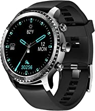 $49 » Tinwoo Smart Watch for Men, Support Wireless Charging, Bluetooth Fitness Tracker with Heart Rate Monitor, 2020 Version Sma...
