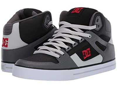 DC Pure High-Top WC (Black/Grey/Red) Men