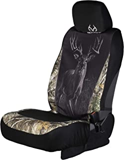 Realtree Low Back Camo Seat Covers for Car and Truck, Fits Most Low Back Seats