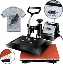 "Super Deal Pro Digital Swing Away Heat Press Machine (Renewed), 12"" X 10"""