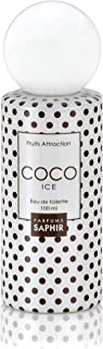 PARFUMS SAPHIR  Fruits Attraction Coco Eau de Toilette con Vaporizador para Mujer - 100 ml