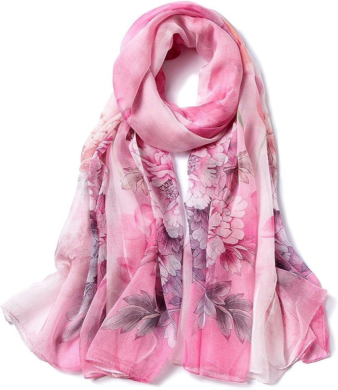 Maerye Autumn and Winter Silk Scarf Fashion Ladies Gift Shawl