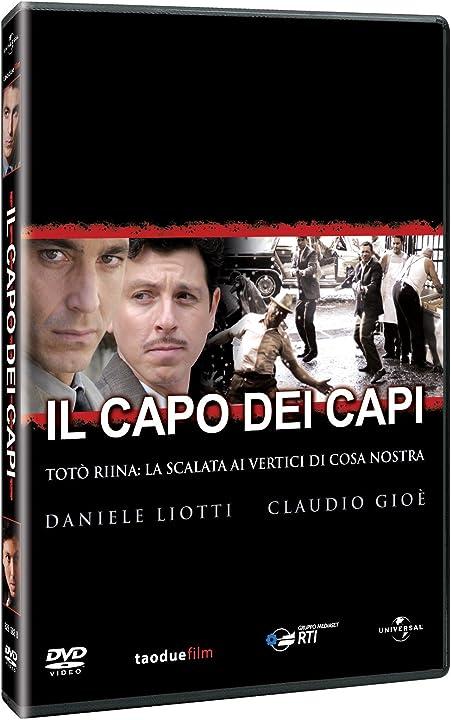 Dvd- film - il capo dei capi - 3 dischi B003H070D0