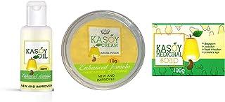 Combo KASOY OIL 60ml Warts Removal & KASOY CREAM 10g Warts Remover Cream & KASOY MEDICINAL SOAP 100g