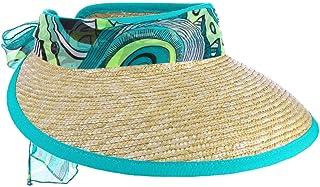 Lierys Visiera di Paglia Summer Mood Donna - Made in Italy da Sole Protezione dal con Visiera, pistagna Primavera/Estate