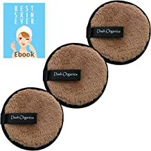 Dash Organics Reusable Makeup Remover Pads Eco-Friendly Alternative To Traditional Cotton Pads - Suitable For All Skin Typ...