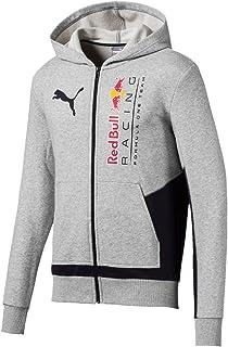 PUMA Men's RBR Logo Hooded Sweat Jacket