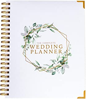 $32 » Wedding Planner & Organizer - Floral Gold Edition - Diary Engagement Gift Book & Calendar