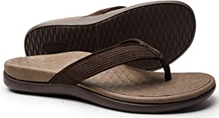Plantar Fasciitis Feet Sandal with Arch Support - Best Orthotic flip.