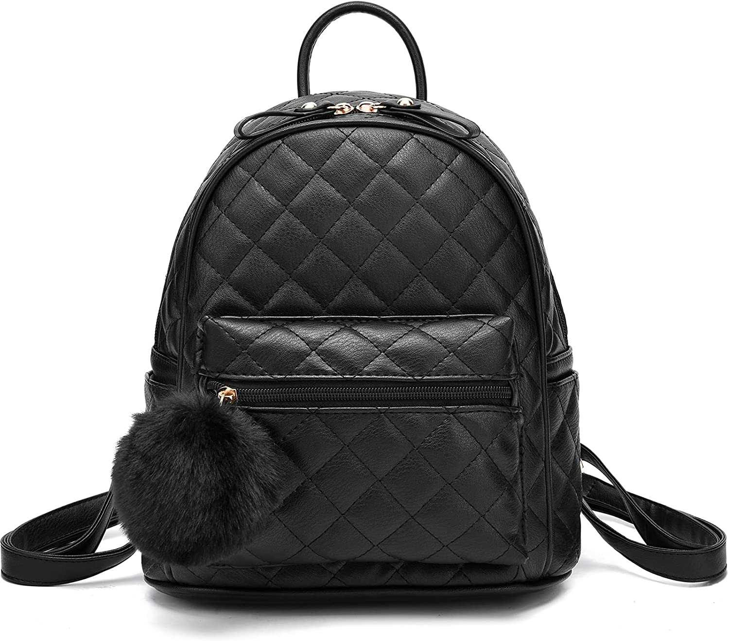 Oakland Mall Quilted Purse Denver Mall Backpack for Women Shoulder Leather Style Bag Ins