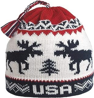 USA Moose, American Made Wool Winter Hat