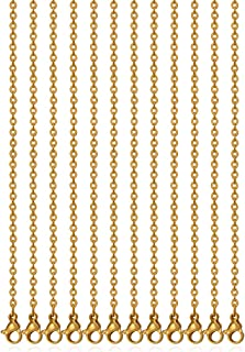 Best gold chain for necklace making Reviews