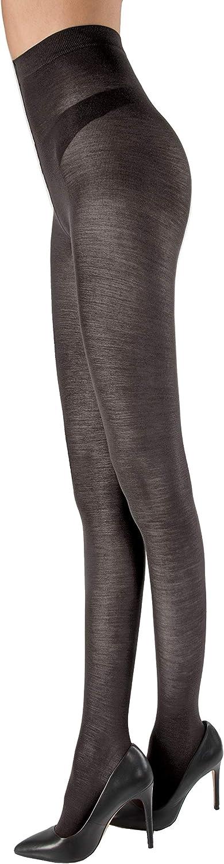 Carbonara Merino Wool Tights Fumo XL