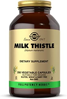Solgar - Full Potency Milk Thistle, 250 Vegetable Capsules