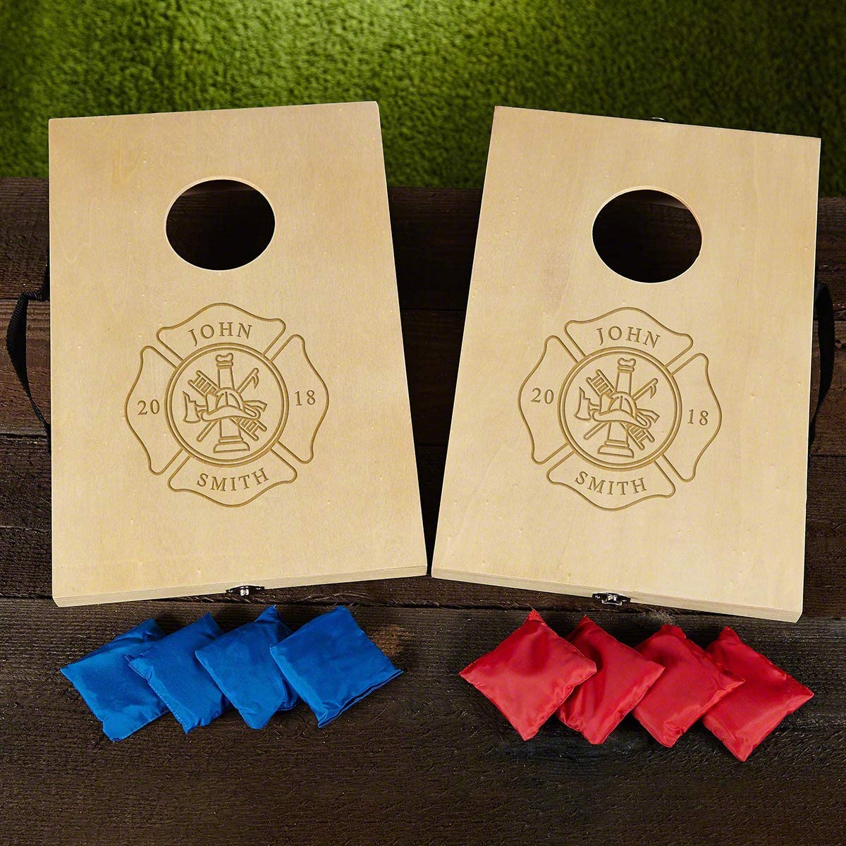 Personalized Firefighter Cornhole Game Product Set 2021 spring and summer new Ranking TOP4 Custom