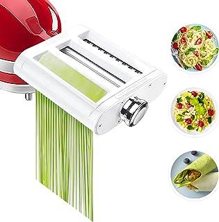 Pasta Maker Attachment for KitchenAid Stand Mixers 3 in 1...