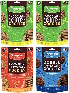 Fancypants Baking Company mini Crunch Cookies Sampler (Pack of 4)