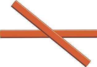 GRAPHITE Carpenter Pencils #2 Pencil Lead   Rectangular Pencil   (72) pcs   Wide Graphite Pencil for Wood Flooring Marker ...